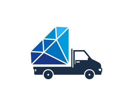 Diamond Icon Logo Design Element 版權商用圖片 - 80612433