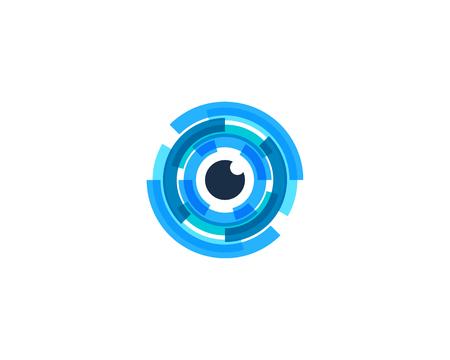 Letter O Icon Logo Design Element Logo