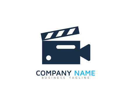 Video Icon Logo Design Element