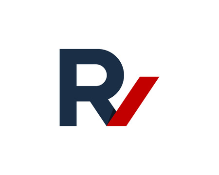 Letter R Icon Logo Design Element 向量圖像