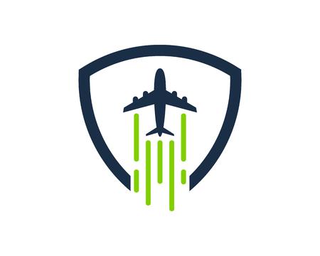 旅行アイコンをデザイン要素