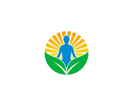 Wellness Icon Design Element