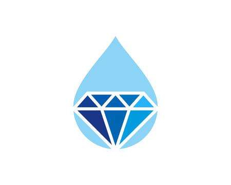 Diamond Icon Logo Design Element 向量圖像