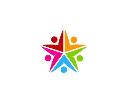 five star: Star Icon Design Element