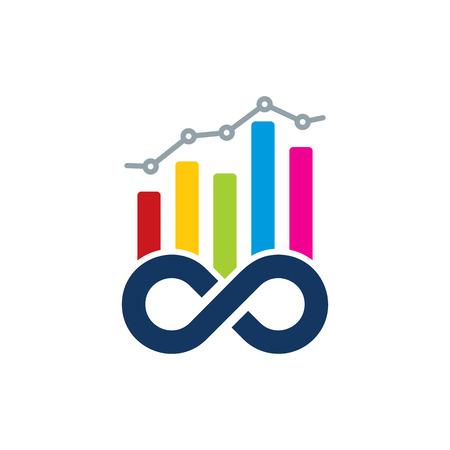 Infinity Analytic Logo Icon Design