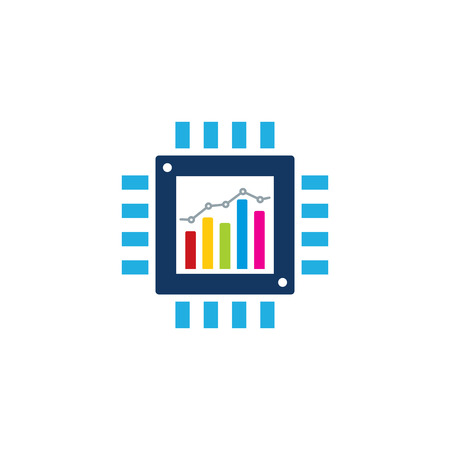 Chip Analytic Icon Design