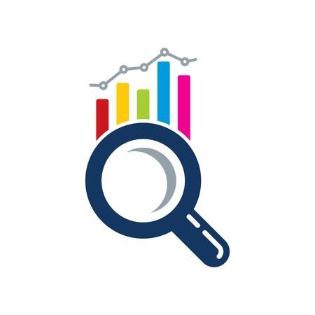 Find Analytic Logo Icon Design