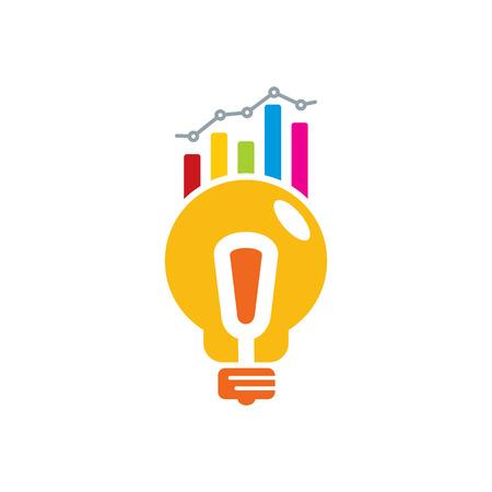 Creative Analytic Logo Icon Design