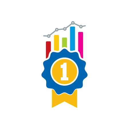 Best Analytic Logo Icon Design Illustration