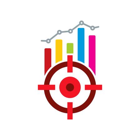 Target Analytic Icon Design