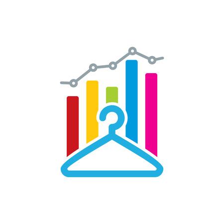Laundry Analytic Logo Icon Design
