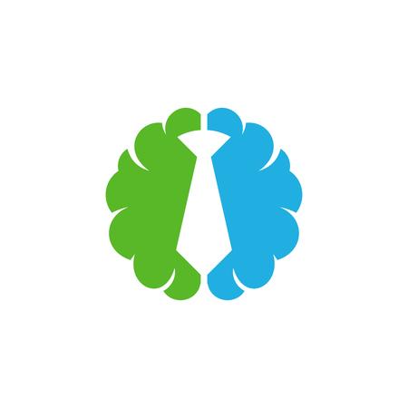 Job Brain Logo Icon Design