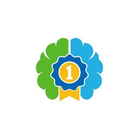 Best Brain Logo Icon Design