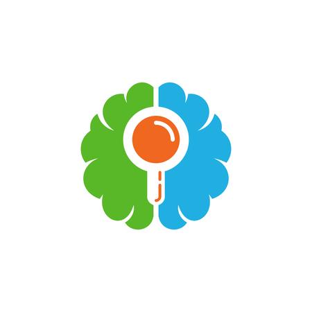 Find Brain Logo Icon Design Stock Vector - 100915465