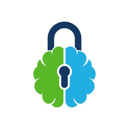 Security Brain Logo Icon Design