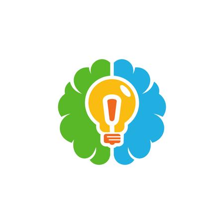 Creative Brain Logo Icon Design