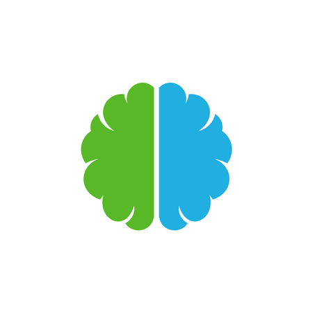 Brain Logo Icon Design Stock Vector - 100970650
