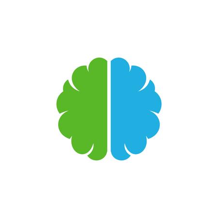 Brain Logo Icon Design Illustration