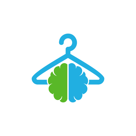 Laundry Brain Logo Icon Design