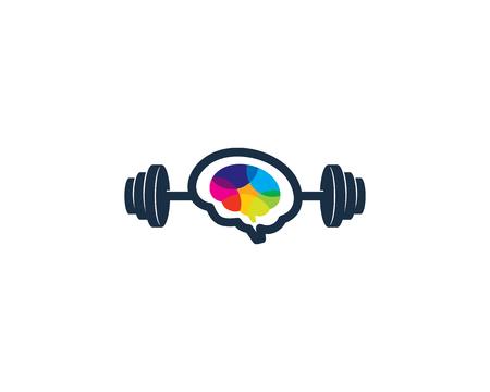 Projektowanie ikona Logo brzana mózgu