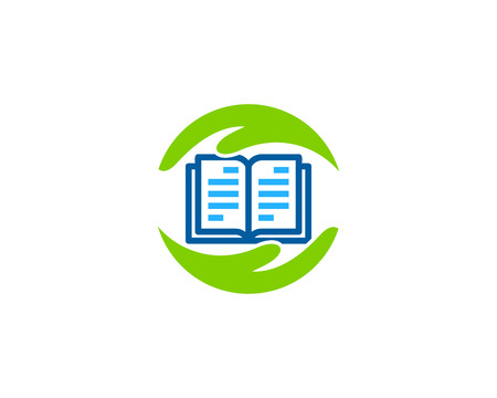Support Book Logo Icon Design