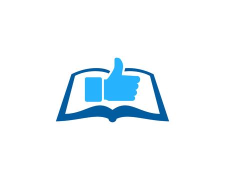 Top Book Logo Icon Design