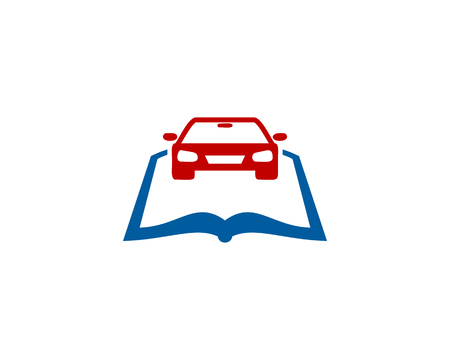 Car Book Logo Icon Design