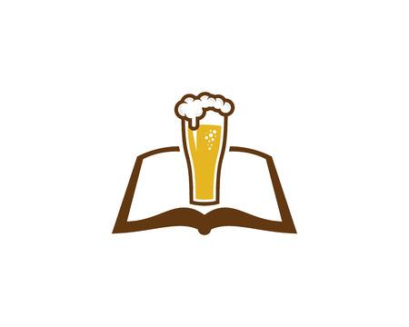 Beer Book Logo Icon Design