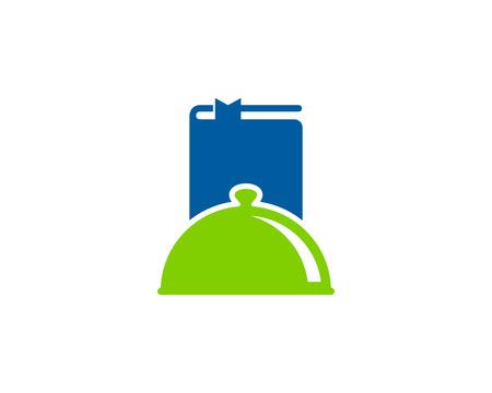 Nutrition Book Logo Icon Design Banque d'images - 100999184