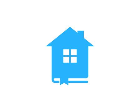 Residence Book Logo Icon Design