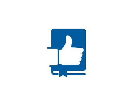 Best Book Logo Icon Design Stock Vector - 100999207