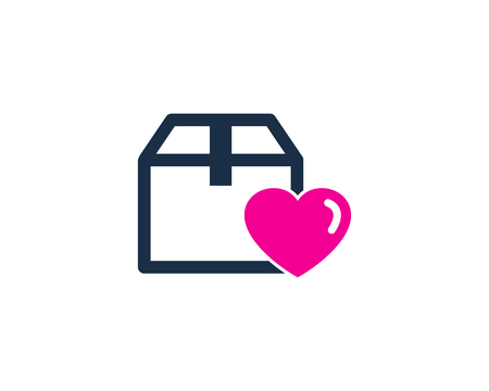 Love Box Logo Icon Design