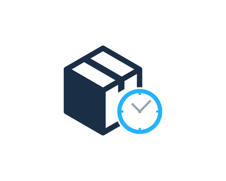 Time Box Logo Icon Design illustration graphic design vector