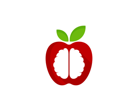 Fresh Brain Logo Icon Design