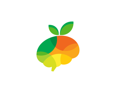 Vitamin Brain Logo Icon Design