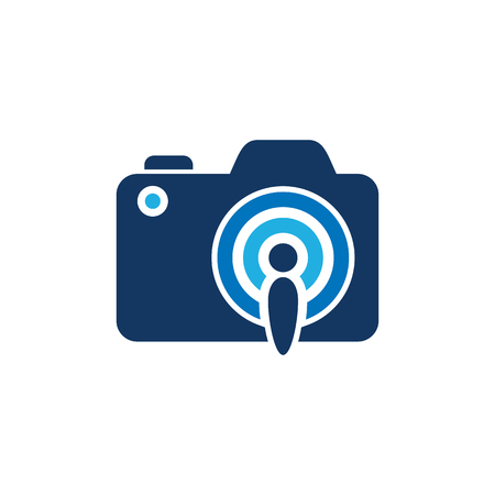 Signal Camera Logo Icon Design