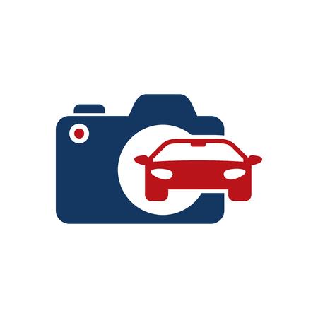 Automotive Camera Logo Icon Design