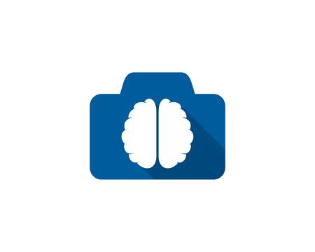 Photography Brain Logo Icon Design