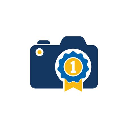 Best Camera Logo Icon Design Stock Vector - 100984907