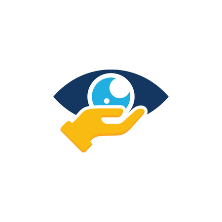 Vision Chat Logo Icon Design