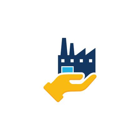 Industrial Care Icon Design