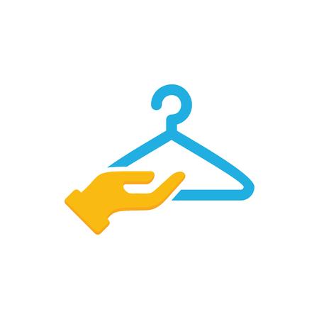 Laundry Care Logo Icon Design