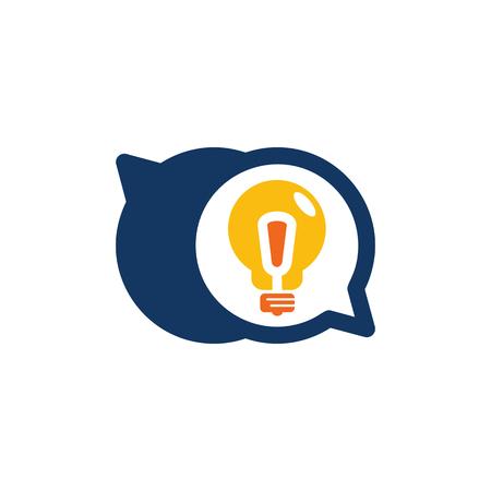 Creative Chat Logo Icon Design