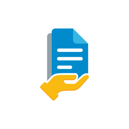 Document Care Logo Icon Design