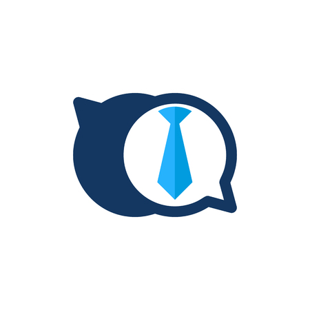 Job Chat Logo Icon Design