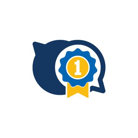 Best Chat Logo Icon Design