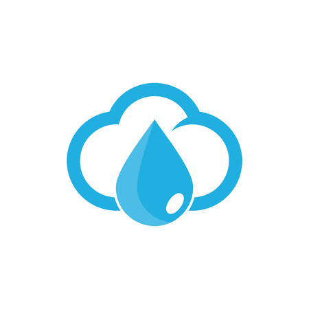 Diseño de iconos de líquido y nube Foto de archivo - 101010328
