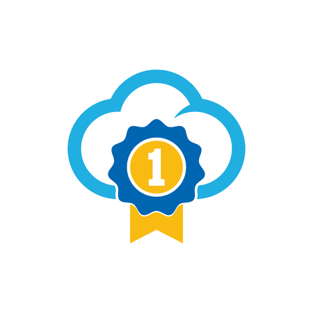 Best Cloud Logo Icon Design Stock Vector - 101008413