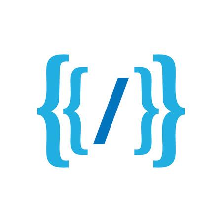 Code Logo Icon Design