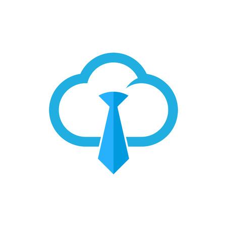 Job Cloud Logo Icon Design